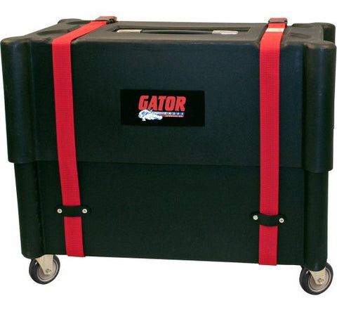 Gator Cases Molded Plastic 2x12 Combo Amp Transporter and Stand