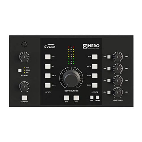 Audient Nero Desktop Stereo Monitor Speaker Controller