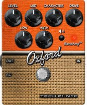 Tech 21 CS-OX SansAmp Character Series Oxford Distortion Guitar Effects Pedal
