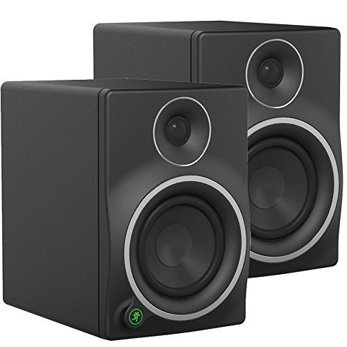 Pair of Mackie MR mk3 Series MR5mk3 5-Inch 2-Way Powered Studio Monitors