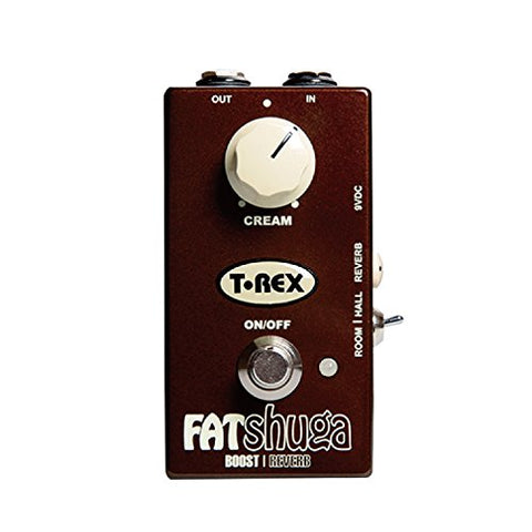 T-Rex FAT-SHUGA Overdrive/Boost with Reverb Pedal