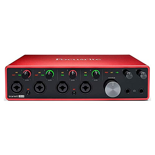 Focusrite Scarlett 18i8 (3rd Gen) USB Audio Interface with Pro Tools | First