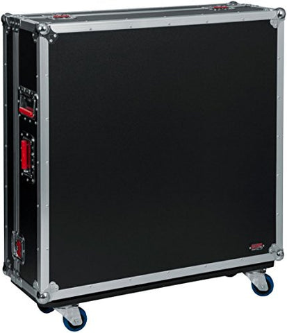 Gator Cases G-TOURYAMTF5 G-TOUR ATA Style Road Case - Custom Fit for Yamaha TF5 Mixer with Dog House and Caster Wheels