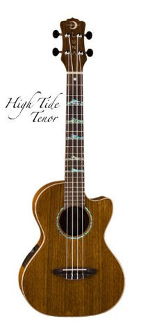 Luna Ukulele High Tide with preamp, UKE HTT OVA
