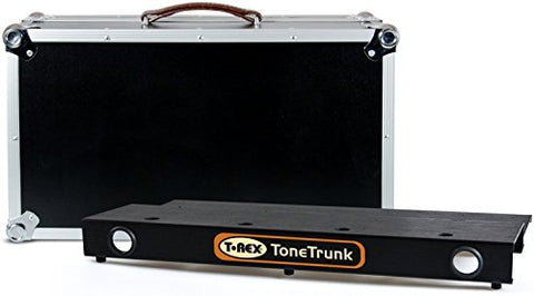 T-Rex TT-CASE-56 Tone Trunk Road Case 56 with Two-Tier Small Aluminum Pedal Board