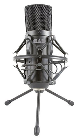 CAD Audio GXL2600USB Large Diaphragm Cardioid Condenser Microphone with Tripod Stand and 10-Feet USB Cable (Refurb)