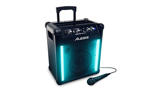 Alesis TransActive Wireless 2 | Portable Rechargeable Bluetooth Speaker with Lights (Refurb)