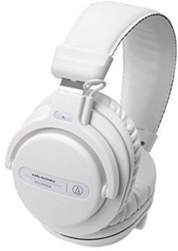 Audio-Technica ATH-PRO5XWH Professional Over-Ear DJ Monitor Headphones, White