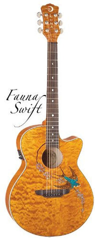 Luna Fauna Swift folk quilt maple, FAU SWIFT