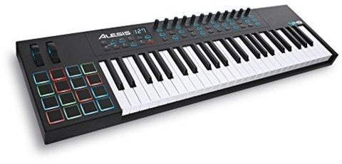 Alesis VI49 Advanced 49-Key USB MIDI Keyboard & Drum Pad Controller (16 Pads / 12 Knobs / 36 Buttons)