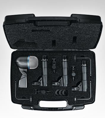 Shure DMK5752 Drum Microphone Package (Refurb)
