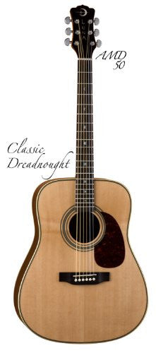 Luna Americana Classic Dreadnought, AMD 50 Guitar
