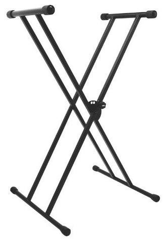 On Stage Stands KS7191 Classic Double-X Keyboard Stand