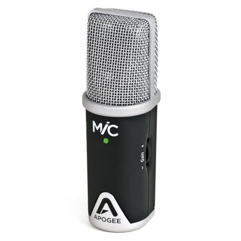Apogee MiC 96k Professional Quality Microphone for iPad, iPhone, and Mac (Refurb)