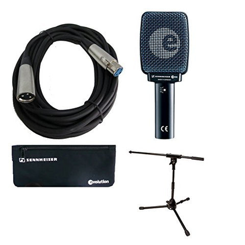 Sennheiser E906 Instrument Microphone Bundle with Amp Mic Stand and Cable