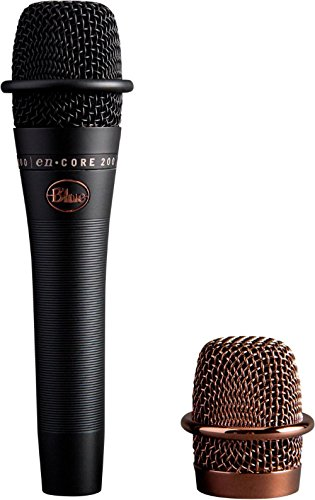 Blue Microphones enCORE 200 Black - Active Dynamic Handheld Microphone (Refurb)