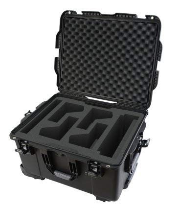 Gator Cases GWP-TITANRODECASTER4 Titan Case For Rodecaster Pro, 4 Mics & 4 Headsets.