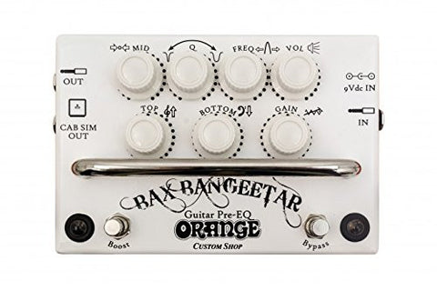 Orange Bax Bangeetar Guitar Pre-EQ - Black (Refurb)