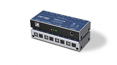 RME Digiface USB 24 Bit / 192 kHz, 66-channel Hi-Performance USB 2.0 Audio Interface, 4x ADAT I/O