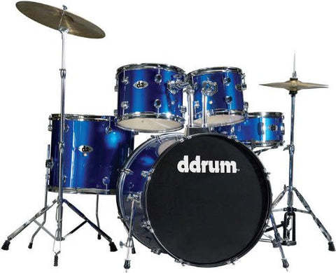 DDrum D2 Drum Set 5pc - Police Blue