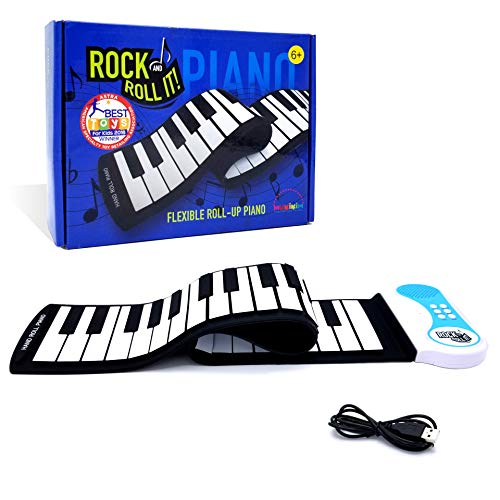 MukikiM Rock And Roll It USB Piano Flexible, Completely Portable 49 standard Key