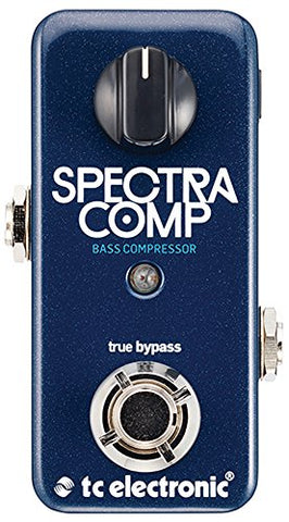 TC Electronic SpectraComp Bass Compressor Bass Compression Effect Pedal (Refurb)