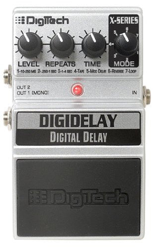 Digitech XDD DigiDelay - Digital Delay, 4 sec looper, 7 types
