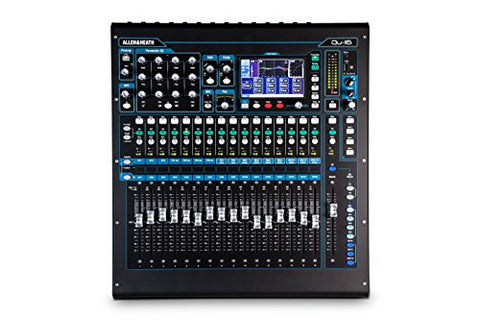 Allen & Heath QU-16C Rack Mountable Compact Digital Mixer, Chrome Edition (Refurb)