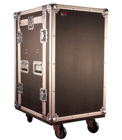 Gator 10U Top, 16U Side Audio Road Rack Case