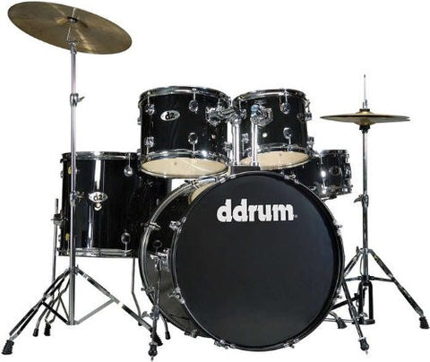 DDrum D2 Drum Set 5pc - Midnight Black