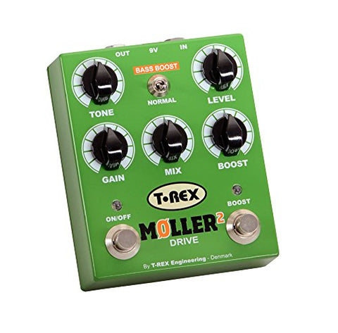 T-Rex Moller 2 Classic Overdrive Pedal with Clean Boost