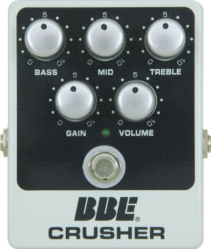 BBE Crusher High Gain Distortion Pedal with 3-Band EQ