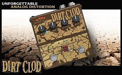 Decibel Eleven Dirt Clod Overdrive Distortion Pedal