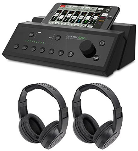 Mackie PRODX8 8-Channel Wireless Digital Mixer+(2) Headphones
