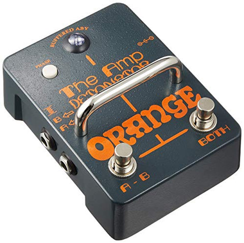 Orange Amp Detonator Buffered ABY Switcher Guitar Effects Pedal (Refurb)