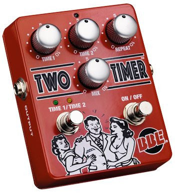 BBE TWO TIMER Dual Mode Analog Delay Pedal (Refurb)