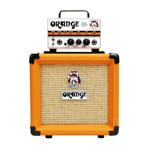 Orange Micro Terror Stack MT20 & PPC108 Bundle Micro Terror Tube Hybrid Guitar Amp Head & Cabinet