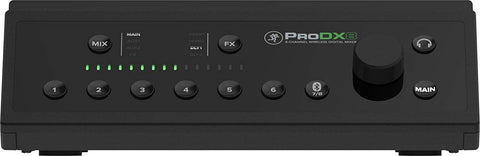 Mackie ProDX8 8-Channel Wireless Digital Mixer (Refurb)