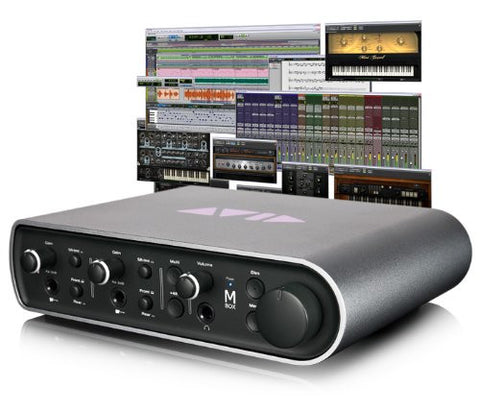 Avid Pro Tools + Mbox High-Performance 4x4 Pro Tools Studio Bundle for Mac and PC