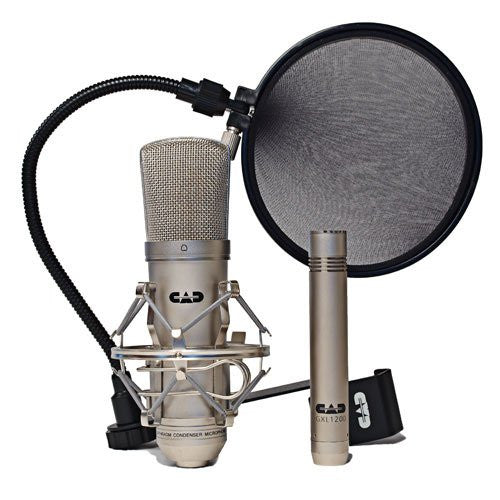CAD GXL2200SSP Stereo Studio Pack Contains one Cardioid Condenser
