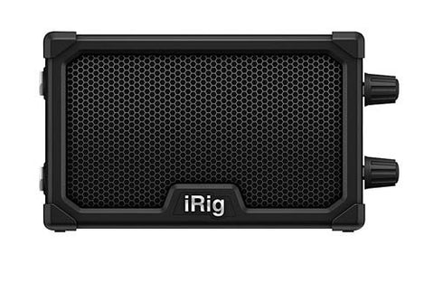 IK Multimedia iRig Nano Amp Mobile Micro Guitar Amp and iOS Interface - Black