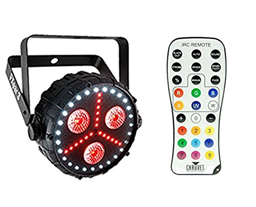Chauvet FXpar 3 Multi-Effect Par Wash/Strobe Light + IRC-6 Remote Control