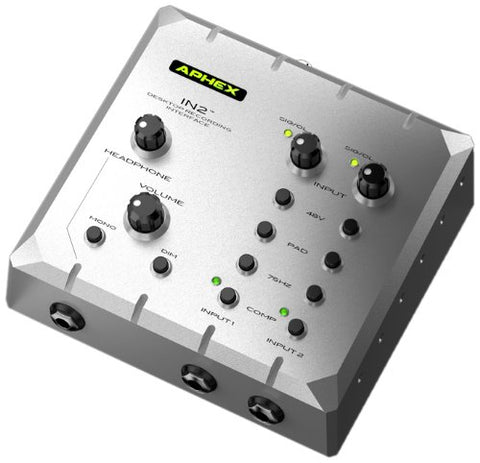 Aphex IN 2 High Performance Desktop Recording Interface