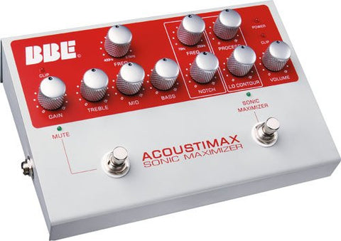 BBE Acousti-Max Acoustic Instrument Pre-Amp and Sonic Maximizer