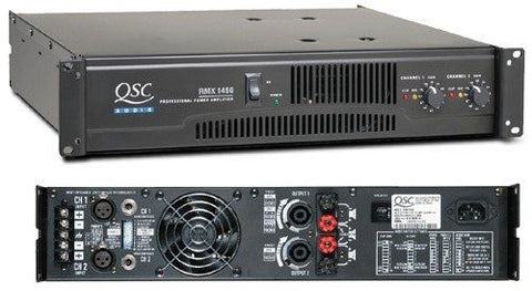 QSC RMX1450 Stereo Power Amplifier
