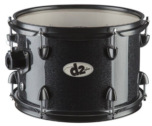 DDrum D2 Rock Kit Blk Sparkle W/ Blk Hardware