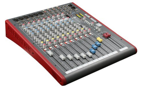 Allen & Heath ZED-12FX 12-Channel Mixer with USB Interface and Onboard EFX (Refurb)