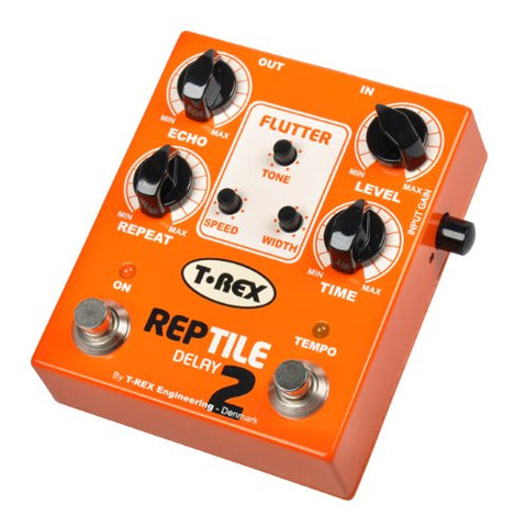 T-Rex REPTILE-2 Tape-Style Delay Pedal