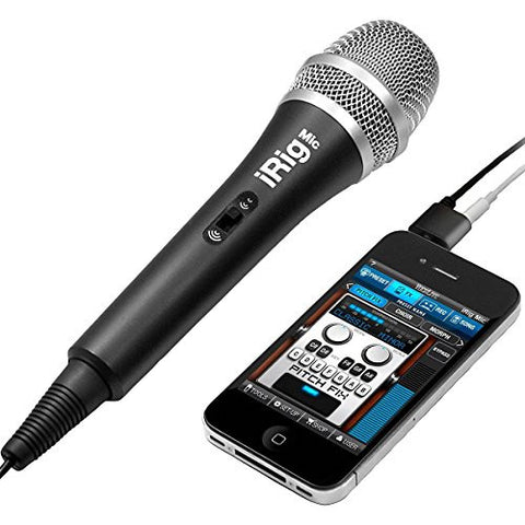 IK Multimedia iRig Mic for iPhone, iPod Touch,iPad - Refurb