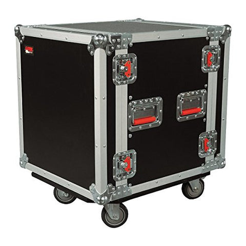 Gator 12U, Standard Audio Road Rack Case with Casters (G-TOUR 12U CAST)